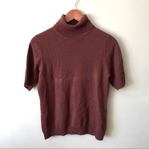 Neiman Marcus 100% Cashmere Turtleneck Sweater MED